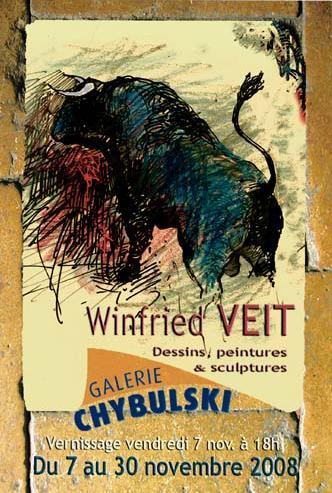 Winfried VEIT dans Galerie Chybulski sanstitre