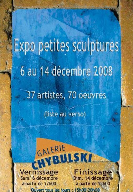 Petites scultures à la Galerie Chybulski dans Galerie Chybulski sanstitre5